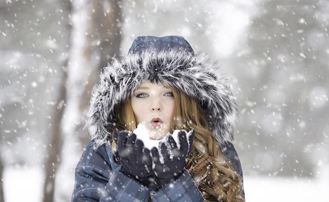 雪の日の彼女